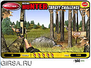 Флеш игра онлайн Охотник смычка - возможность цели / Bow Hunter - Target Challenge