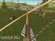 Флеш игра онлайн Bowmaster Target Range