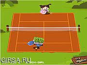 Флеш игра онлайн Box-Brothers Tennis