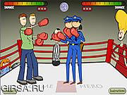 Флеш игра онлайн Бокс 2 х 2 / Boxing 2 x 2