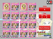 Флеш игра онлайн Bratz памяти Matching / Bratz Memory Matching