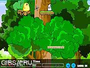 Флеш игра онлайн Храбрый Цыпленок / Brave Chicken