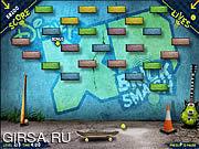 Флеш игра онлайн Кирпич Разбить