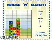 Флеш игра онлайн Bricks 'n' Match
