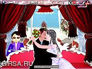 Флеш игра онлайн Поцелуи-люкс / Bridal Kissing