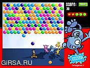 Флеш игра онлайн Цветные шарики / Bubbels