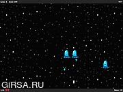 Флеш игра онлайн Bubble Ghost Invaders