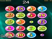 Флеш игра онлайн Bubble Numbers