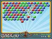 Флеш игра онлайн Стрелок по пузырям 3