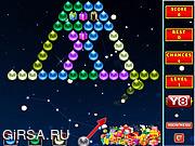 Флеш игра онлайн Стрельба по пузырям / Bubble Shooter Xmas Fun