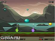 Флеш игра онлайн Bubble Slasher