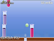 Флеш игра онлайн Веселые пробирки
