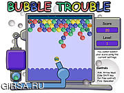 Флеш игра онлайн Пузырь Неприятности / The Bubble Trouble