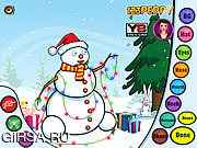 Флеш игра онлайн Лепка снеговика / Build Snowman