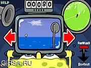 Флеш игра онлайн Sponge Bob Square Pants: Bumper Subs