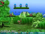 Флеш игра онлайн Смешной зайчик / Funny Bunny