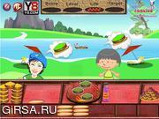 Флеш игра онлайн Бургер порции / Burger Stand Serving