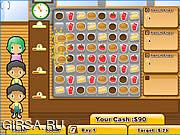 Флеш игра онлайн Бургер Мания