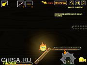 Флеш игра онлайн Горящая История / Burning Story