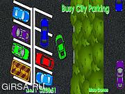 Флеш игра онлайн Парковка в городе / Busy City Parking