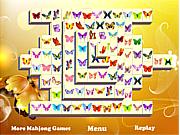Флеш игра онлайн Бабочка. Маджонг