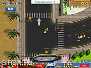 Флеш игра онлайн California Pizza Delivery