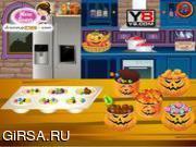 Флеш игра онлайн Кондитерская / Candy bar cupcakes