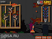 Флеш игра онлайн Cannon Basketball Fun