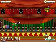 Флеш игра онлайн Человек-оружие / Cannonman