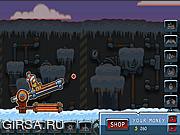 Флеш игра онлайн Canoniac Launcher Xmas
