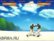 Флеш игра онлайн Бои Капоэйра