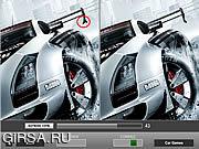 Флеш игра онлайн Автомобилей - выяснить разницу / Car - Find the Difference