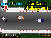 Флеш игра онлайн Гоночный автомобиль / Car Racing Challange 2013