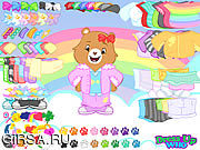 Флеш игра онлайн Care Bears Dress Up