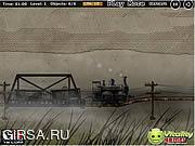 Флеш игра онлайн Cargo Steam Train