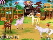 Флеш игра онлайн Caring for Unicorns