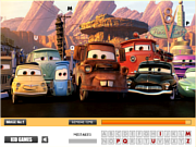 Флеш игра онлайн Автомобили скрытые буквы / Cars Hidden Letters