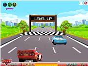 Флеш игра онлайн Путешествие Молнии Мак-Квина / Cars on Road