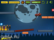 Флеш игра онлайн Cars vs Zombies