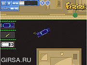 Флеш игра онлайн Мультипликационная парковка / Cartoon Parking