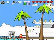 Флеш игра онлайн Кот 2 замока - нашествие Майами