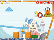 Флеш игра онлайн Путешествие кота