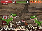 Флеш игра онлайн Восхождение Пещерного Человека / Caveman Climb