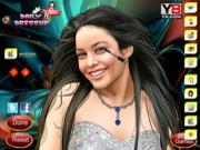 Флеш игра онлайн Макияж для Ванессы Хадженс / Celebrity Vennessa Makeover Hudgens