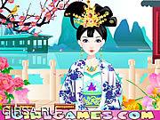 Флеш игра онлайн Очаровательная принцесса Тан
