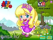 Флеш игра онлайн Золушка Чиби / Chibi Cinderella
