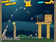 Флеш игра онлайн Chick Cannon 2