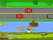 Флеш игра онлайн Почему цыпленок пересек дорогу?