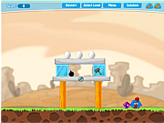 Флеш игра онлайн Дом курочек2 / Chicken House 2