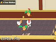 Игра Chicken Jockey 2 - Clucktible Card Racers